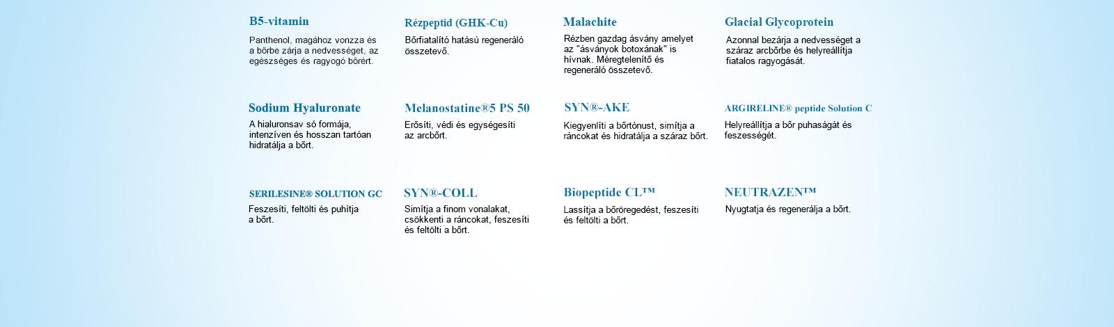 NARÜKO am+pm B5+réz peptid regeneráló szérum 30ml