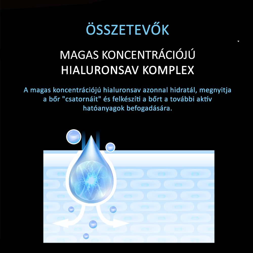 Neogence N9 prémium hialuronsavas mélyhidratáló fátyolmaszk